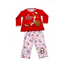PJA 010216 Snoopy Red Pink
