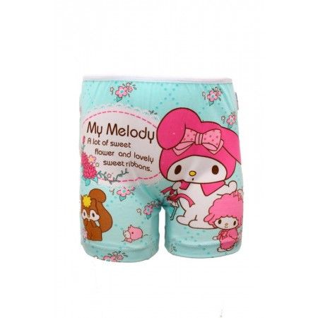 Boyshort JM 010415 My Melody Green