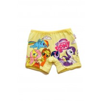 Boyshort JM 010516 Lil Pony Yellow