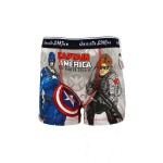 Boxer JM 030515 Captain America Grey