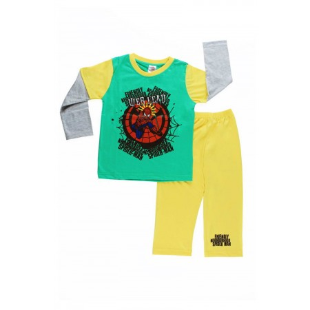 DN PJA 010116 Spiderman Green Yellow