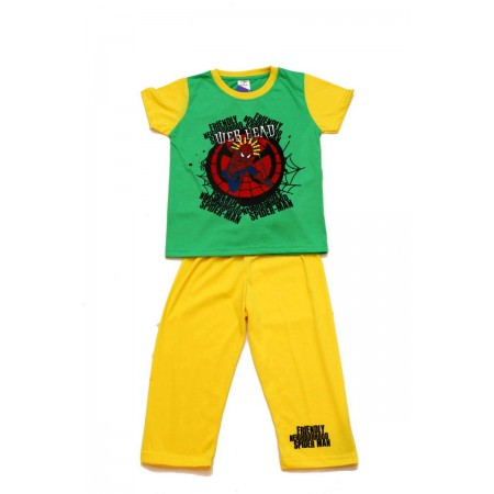 DN PJAP 010116 Spiderman Green Yellow