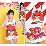 Red Attack Angrybirds kombinasi TT-11015171